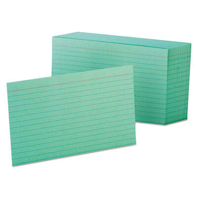 Oxford 7421GRE Index Cards