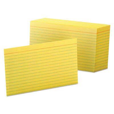 Oxford 7421CAN Index Cards