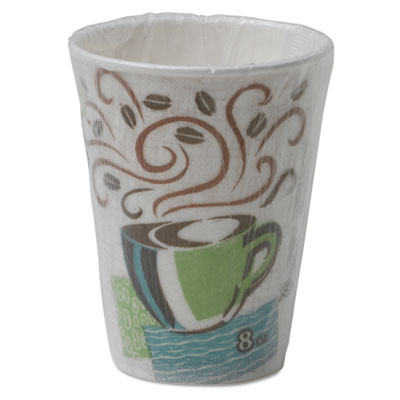 Dixie 5338CDWR PerfecTouch Paper Hot Cups