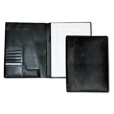 Buxton OC87795BK Classic Leather Pad Folio &  Writing Pad