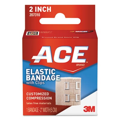 ACE 207310 Elastic Bandage with E-Z Clips