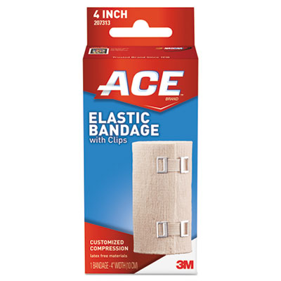 ACE 207313 Elastic Bandage with E-Z Clips