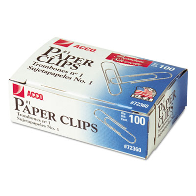 ACCO 72360 Paper Clips