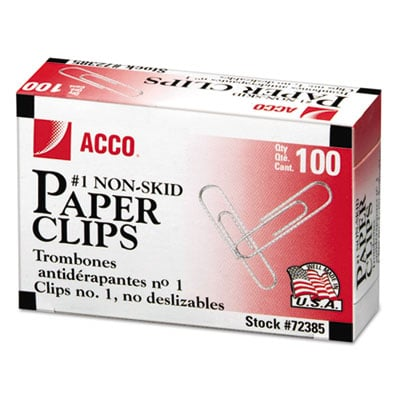 ACCO 72385 Paper Clips
