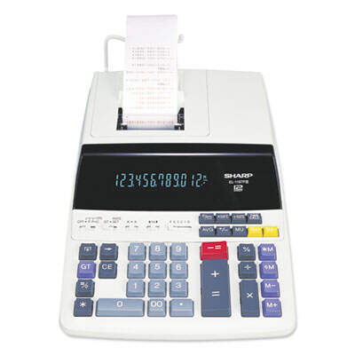 Sharp EL1197PIII 12-Digit Commercial Printing Calculator