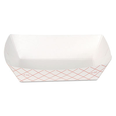 Dixie RP408 Kant Leek Polycoated Paper Food Tray
