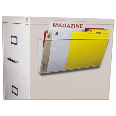 Storex 70325U06C Unbreakable Magnetic Wall File