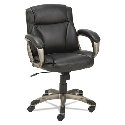 Alera VN6119 Veon Series Low-Back Leather Task Chair