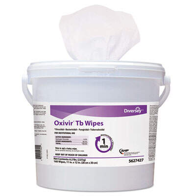 Diversey 5627427 Oxivir TB Disinfectant Wipes