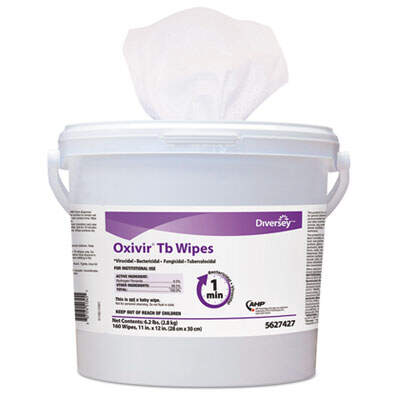 Diversey 5388471 Oxivir TB Disinfectant Wipes