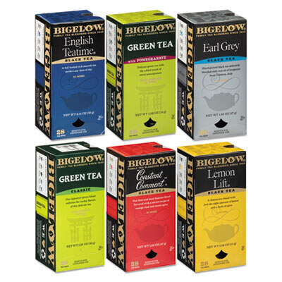 Bigelow 15577 Assorted Tea Bags