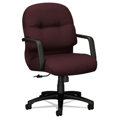 HON 2092NT69T Pillow-Soft 2090 Series Managerial Mid-Back Swivel/Tilt Chair