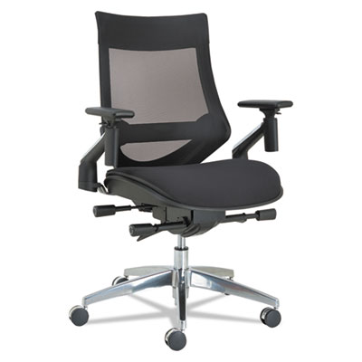 Alera EBW4213 EB-W Series Pivot Arm Multifunction Mesh Chair