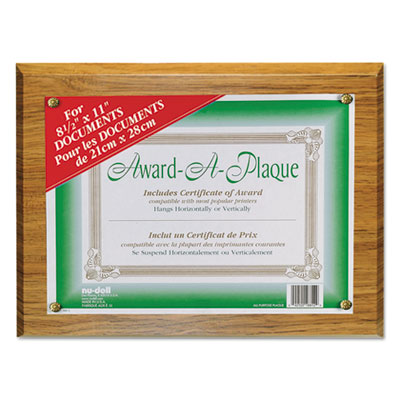 Nu-Dell 18812M NuDell Award-A-Plaque