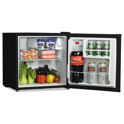 Alera RF616B 1.6 Cu. Ft. Refrigerator with Chiller Compartment