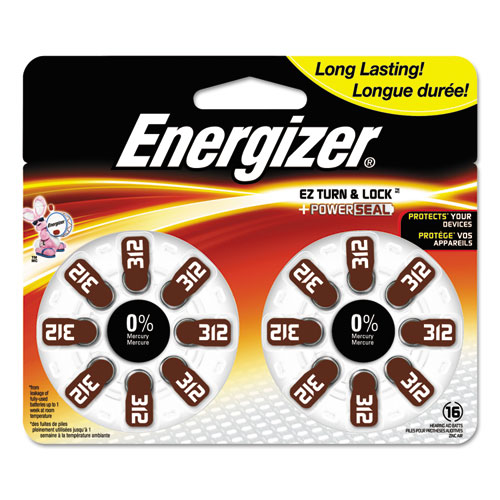 Energizer AZ312DP16 Mercury-Free Watch/Electronic/Specialty Battery
