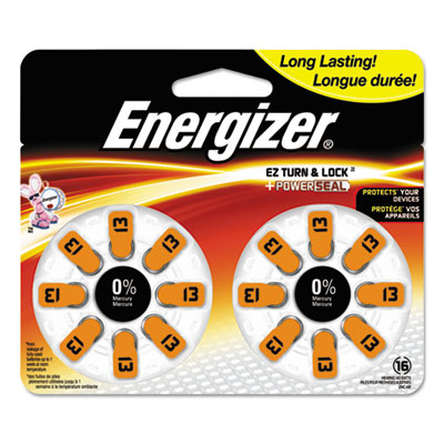 Energizer AZ13DP16 Mercury-Free Watch/Electronic/Specialty Battery