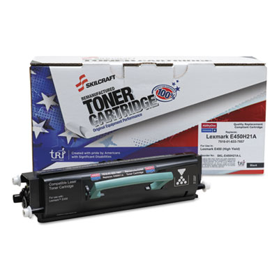 AbilityOne 6337857 Black Toner Cartridge