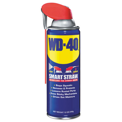 WD-40 490057 Smart Straw Spray Lubricant