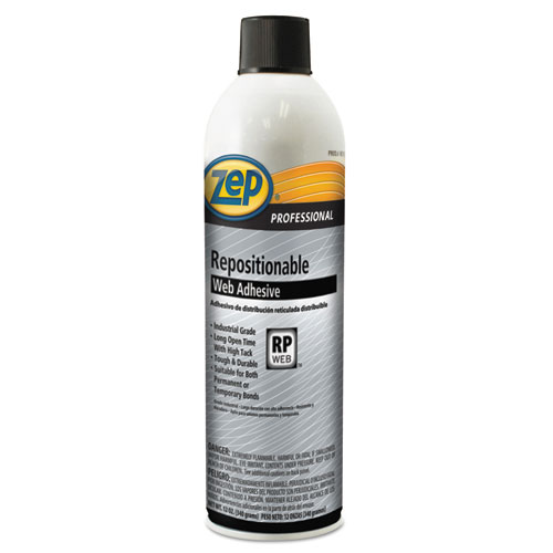 Zep 1046674 Professional Repositionable Web Adhesive