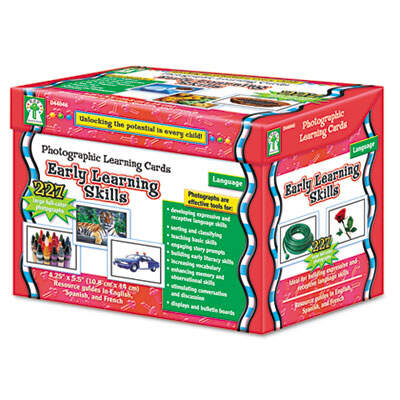 Carson-Dellosa D44046 Publishing Photographic Learning Cards