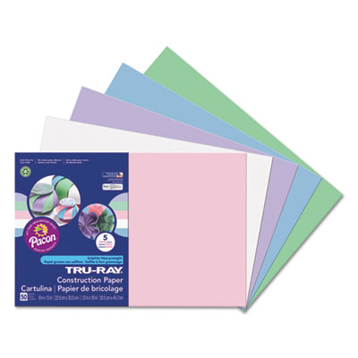 Pacon 6569 Tru-Ray Construction Paper
