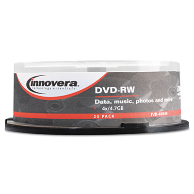 Innovera 46848 DVD-RW Rewritable Disc