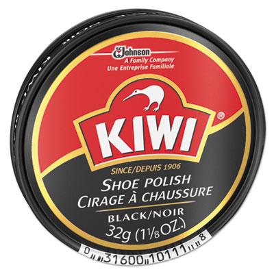 SC Johnson CB101113 KIWI Black Shoe Polish