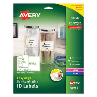 Avery 00756 Labels