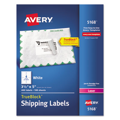 Avery 5168 labels for Avery 8168 template