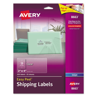 Avery 8663 Labels