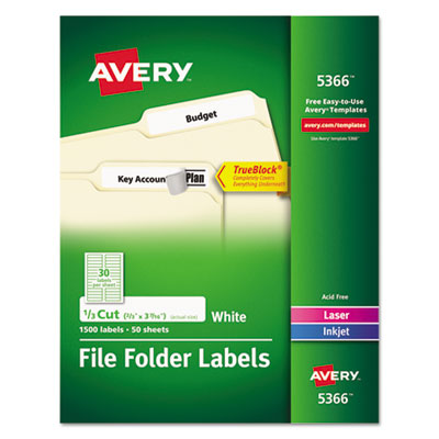 Avery 5366 labels for Avery template 5366 for word