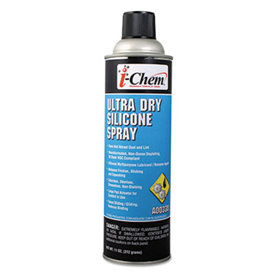 i-Chem 1039409 Ultra Dry Silicone Spray