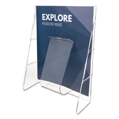 deflecto 55501 Stand Tall Literature Holder