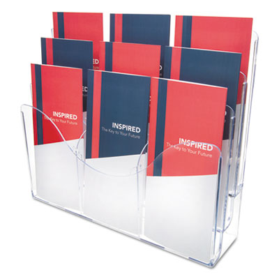 deflecto 47631 Three-Tier Document Organizer with Dividers