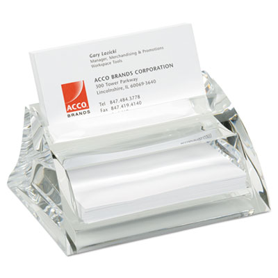 Swingline 10135 Stratus Acrylic Business Card Holder