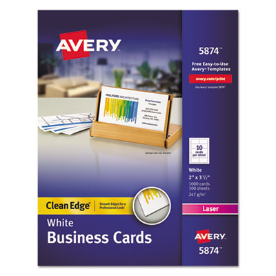 Avery 5874 business cards template 28 images avery 8371 avery 5874 business cards template avery 5874 premium clean edge business cards reheart Gallery