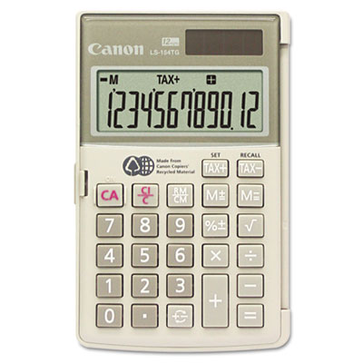 Canon 1075B004 LS154TG Handheld Calculator