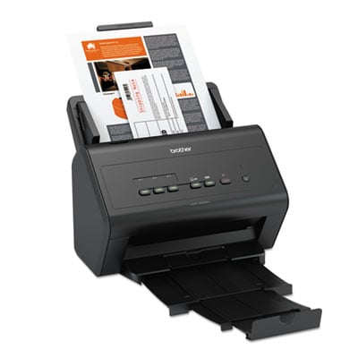 Brother ImageCenter ADS-3000N High Speed Network Document Scanner for Mid to Large Size Workgroups