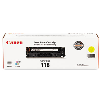 Canon 118 Yellow Toner Cartridge