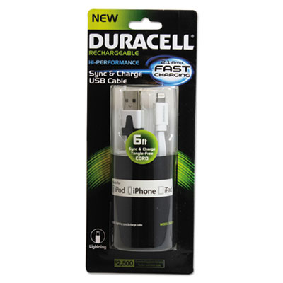 Duracell DU1311 Sync and Charge Cable