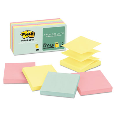 Post-it R33012AP Pop-up Notes Original Pop-up Refill