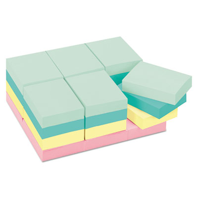Post-it 65324APVAD Notes Original Pads in Marseille Colors