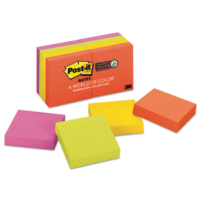 Post-it 6228SSAN Notes Super Sticky Pads in Marrakesh Colors