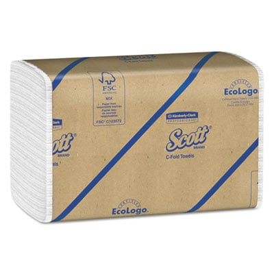 Scott 01510 C-Fold Paper Towels
