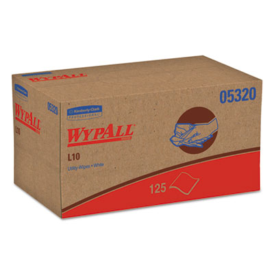 WypAll 05320 WypAll L10 Utility Wipes