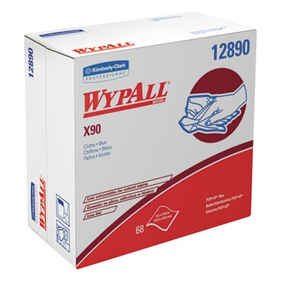 WypAll 12890 WypAll X90 Cloths