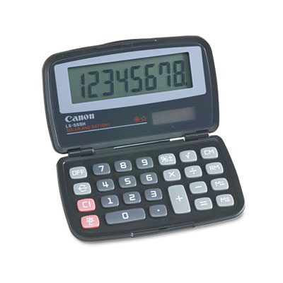 Canon 4009A006AA LS555H Handheld Foldable Pocket Calculator