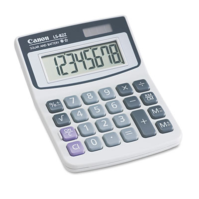 Canon 4075A007AA LS82Z Minidesk Calculator