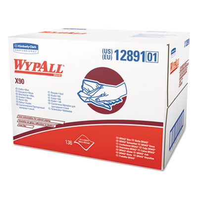 WypAll 12891 WypAll X90 Cloths